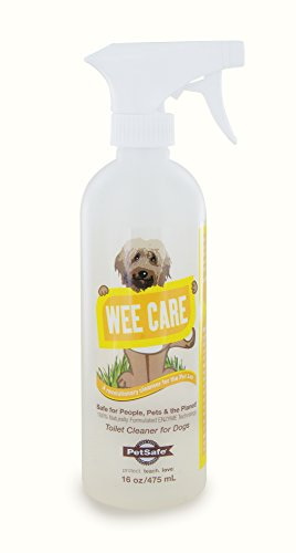PetSafe Wee Care Enzyme Cleaning Solution, Dog Waste Odor Eliminator