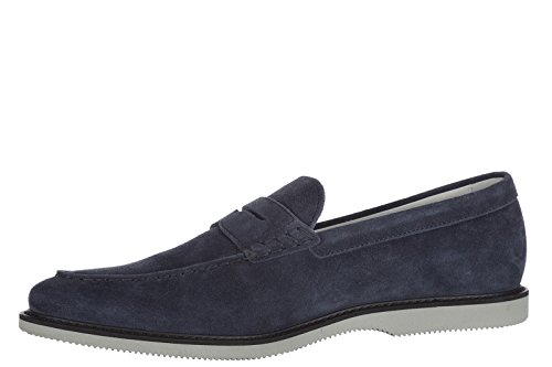 Hogan Mens Mocka Dagdrivare Mockasiner Club Blu