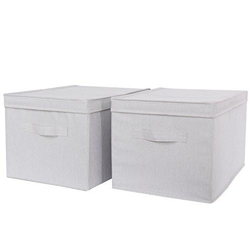 schrank korb best pass lifewit stck faltbare schrankkorb stoffbox spielkiste mit deckel und. Black Bedroom Furniture Sets. Home Design Ideas