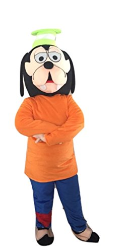Goofy Mickey Mouse Dog Characters Costume Mascot Adult Size For Birthday Boy or Girl Birthday Party Event (Goofy Character Halloween Costume)
