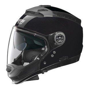 Nolan N44 EVO Gloss Black Modular Helmet, (Gloss Black Modular Helmet)