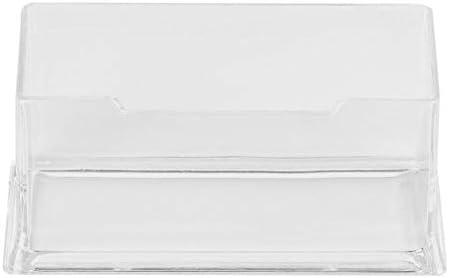 AnamSafdarButt59 Löschen Sie PMMA Visitenkartenhalter Display Stand Schreibtisch Desktop CountertopBusiness Kartenhalter Schreibtisch Regal Box