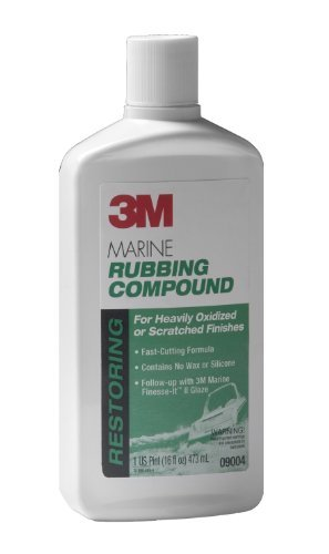 2 X 3M Marine Super Duty Rubbing Compound 16oz 09004