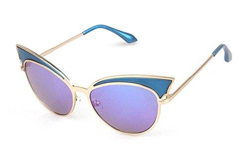 26b7e1a2199 GAMT Trend Retro Sexy Cat Eye Sunglasses Yurt Chic Cateye Sun Glasses Super  Popular Gold Frame