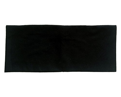 RiptGear Yoga Headband Solid Black