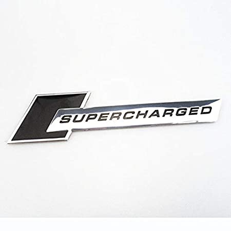 Color Name: Carbon Sliver New 3D Metal Motorsport Supercharged Car Styling Emblem Badge Sticker for Audi A-Series C-Series S-Series SQ-Series RS-Series