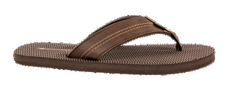 Flip Comfort Brown Sandal Casual Travis Flop Dockers Men's vTPwIqnH