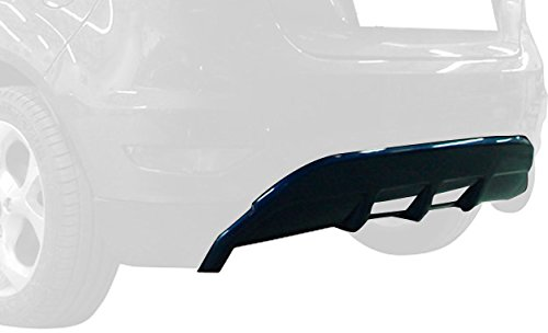 Rear bumper skirt (Corners) Fiesta VII 9/2008- (ABS) Motordrome K124-006
