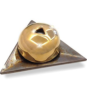 Metallic Gold Ceramic Burner 1 pc by Papier d'Armenie