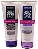 John Frieda Frizz-Ease Flawlessly Straight Shampoo and Conditioner Duo Set, 10 Ounce Each