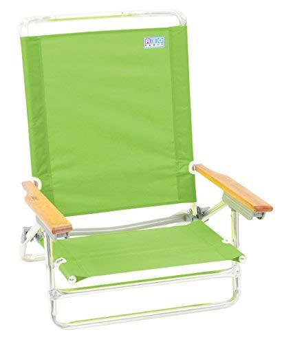 RIO BEACH Classic 5 Position Lay Flat Folding Beach Chair [並行輸入品] B07R4WXBMW