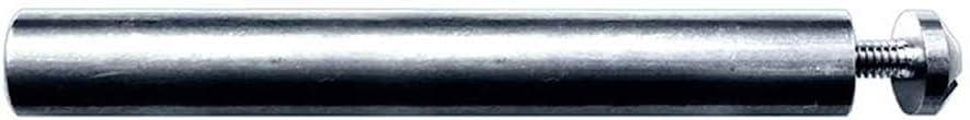 Dedeco Sunburst - 1/4 Inch x 1/16' Shank Wheel Mandrel - Stainless Steel Rotary Sanding and Polishing Tool Accessory, (1 Pack)