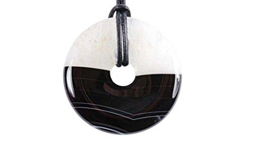 Donut ou PI Chinois agate cristal (4cm)