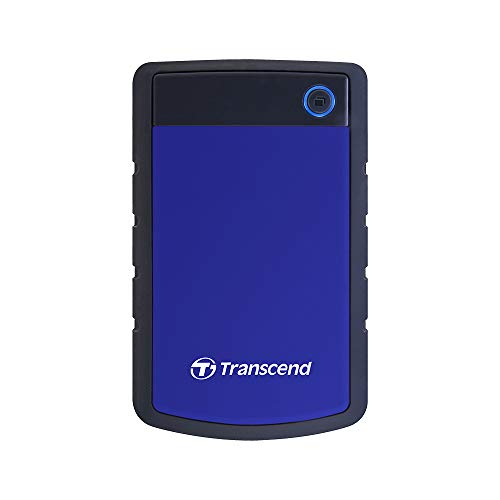 Transcend Military Drop Tested 2 TB USB 3.0 H3 External Hard Drive (TS2TSJ25H3B)