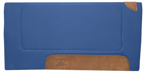 Weaver Leather Work Saddle Pad, Blue