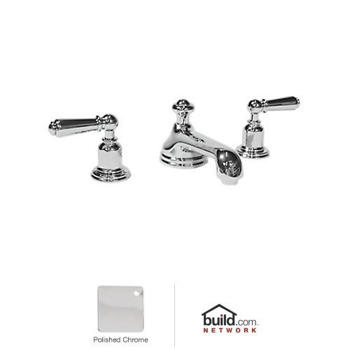 Rohl U.3705L-APC-2 Perrin & Rowe Edwardian Low Level Spout with Aerator Widespread Lavatory Faucet ()