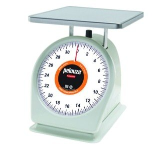 Rubbermaid Commercial Products FG832WQ Washable Food Service Mechanical Portion Control Scale, 2 lb.