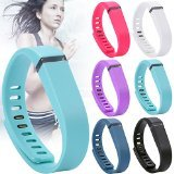 AllThingsAccessory® New Replacement Band For Fitbit Flex Wireless Wristband Bracelet with Clasp / No Tracker