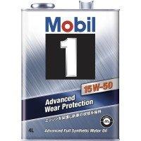 モービル モービル1 15W-50 SN A3/B3 化学合成油 4L×6 B00K76IONW