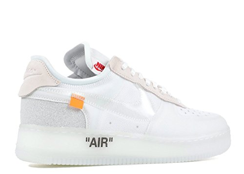 Nike Air Force 1 Low Off Bianco Sneaker Schuhe Neu Il 10 Bianco / Bianco-bianco