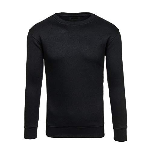 Noir Sweatshirt Sweat Blouse ❤️sweatshirt Capuche Rond Survêtements Hiver À Pull Manche Amlaiworld Top Longue Hommes Automne Casual Col Slim zqHUIg