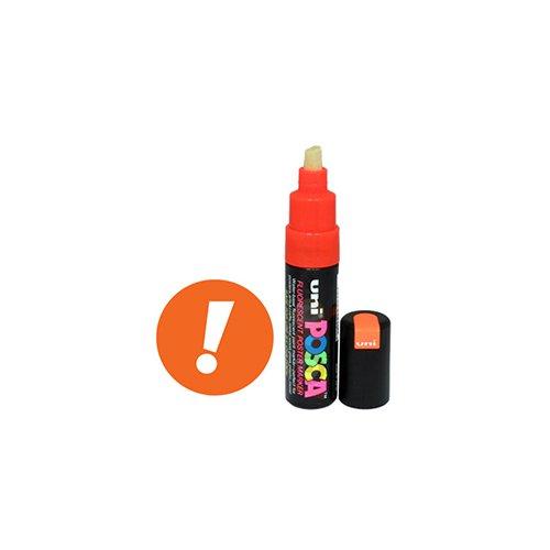 Uni Posca Paint Marker PC-85F - Fluorescent Orange