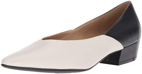 Pump Naturalizer Black White Women's Betty wSqExpqYB