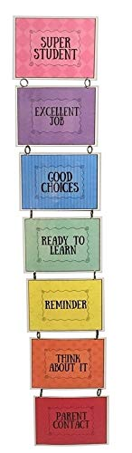 Laminated Wall Hanging Clip Chart, for Classroom or Household Behavior Management, Completely Customizable, Appropriate for All Ages, Chart -