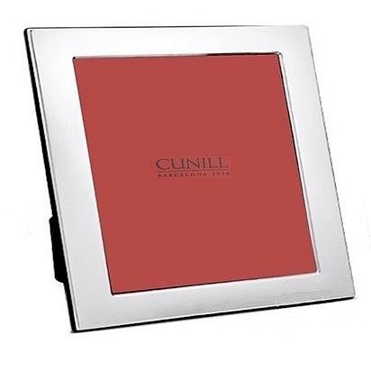 Cunill 8155 Plain Square 5x5 Frame Sterling Silver Picture Frame by Cunill