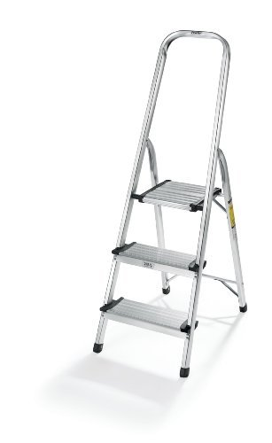 Polder Ultra light Aluminum 3-Step Ladder by Polder by Polder