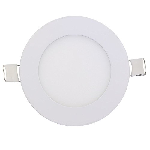 Superdream Energy Saving 600LM 3 Watt 3-inch Retrofit LED Recessed Lighting Fixture (6000K Daylight 60W Equivalent LED Ceiling Light) - Energy Saving Recessed Fixture