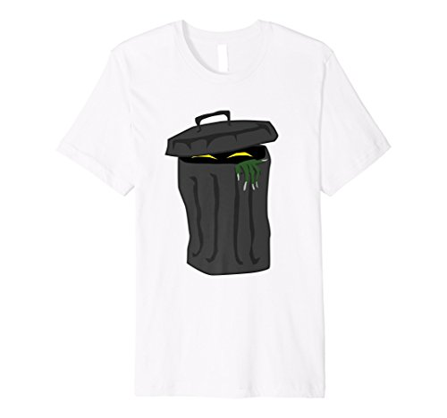 Trash Can Funny Halloween Costume Kids Shirt Girls Boys Gift