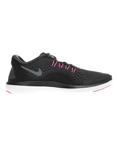 Nike Women's Free Rn Sense Running Fitness Shoes, Black Mehrfarbig (Anthracite/Pink Blast-Black-Cool Grey)
