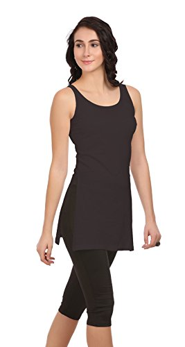 UltraFit Women's Cotton Suit Slips and Camisoles (Black , XL) (B07419MSVW) Amazon Price History, Amazon Price Tracker