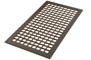 12 X 24 OIL RUBBED BRONZE CONTEMPORARY SQUARE DESIGN VENT COVER (AIR RETURN or GRILLE) WITH SCREW HOLES (Vent Cover Screws compare prices)
