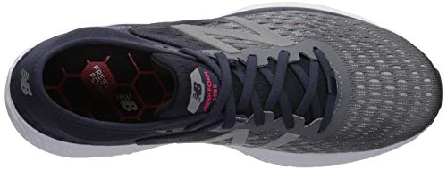 New Balance Men's 1080v9 Fresh Foam Running Shoe, Gunmetal/Outerspace/Energy red, 7 W US by New Balance (Image #8)