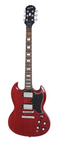 Epiphone G-400 SG Electric Guitar, Cherry (OLD MODEL)