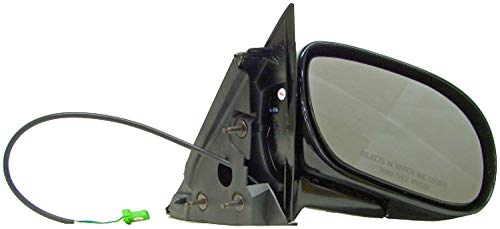 (APDTY 0662634 Power Side View Mirror Assembly Passenger Side (Right) Fits 2003-2005 Buick Park Avenue (Replaces 25739822, 25675747,)
