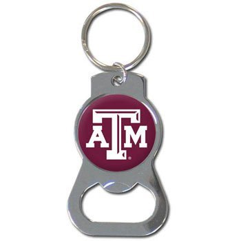 NCAA Texas A&M Aggies Bottle Opener Key Chain (Bottle Aggies M)