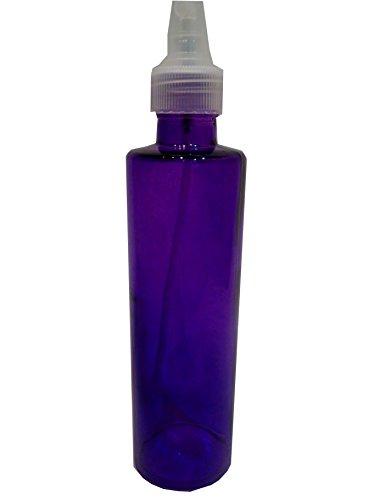 Violet Recycled Glass Bottle Dispenser With Spray Mister--8 oz.--P1701V