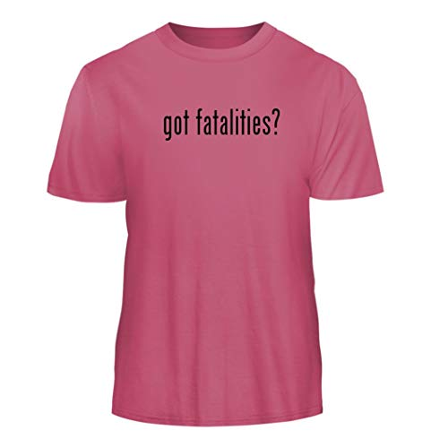 Tracy Gifts got Fatalities? - Nice Men's Short Sleeve T-Shirt, Pink, Large