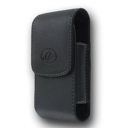 Premium Vertical Leather Pouch Case with Belt Clip for LG enV enVy Touch (Env Touch Phone)