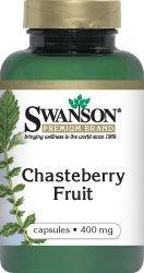 Swanson Chasteberry Fruit 400 mg 120 Caps