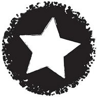 Clear Stamp: Distressed Star