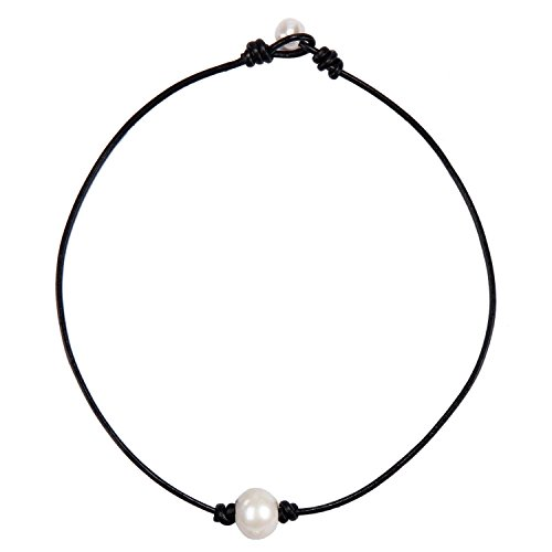 Pearl 3 String Necklace - 3