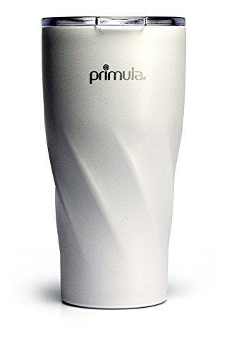Primula Avalanche Thermal Water Bottle, 20 oz, White