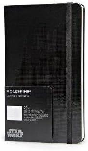 Moleskine 2014 Planner 12 Month Star Wars Weekly Notebook Large Black