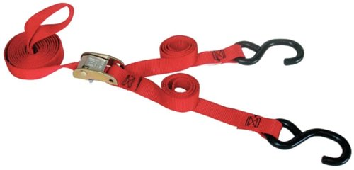 Tie-Down Strap, Cam Buckle, 5-1/2ft x 1In Gras Buckles