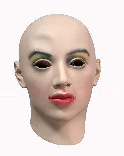 Latex realistic mask paint muti-color eye shadow -