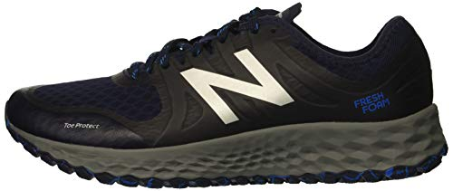 New Balance Men's Kaymin V1 Fresh Foam Trail Running Shoe Pigment/Laser Blue 1.5 D US by New Balance (Image #5)